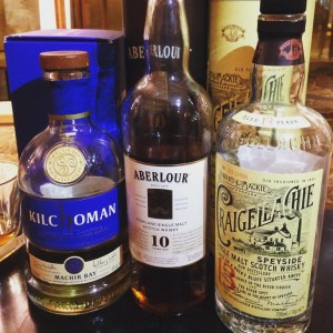 January whisky selection