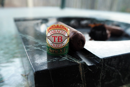 My Father Cigar Band & Butt