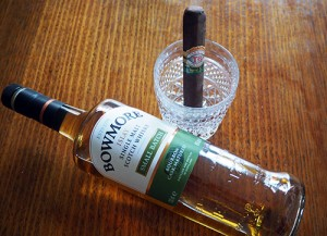 My Father Cigar & Bowmore Whisky